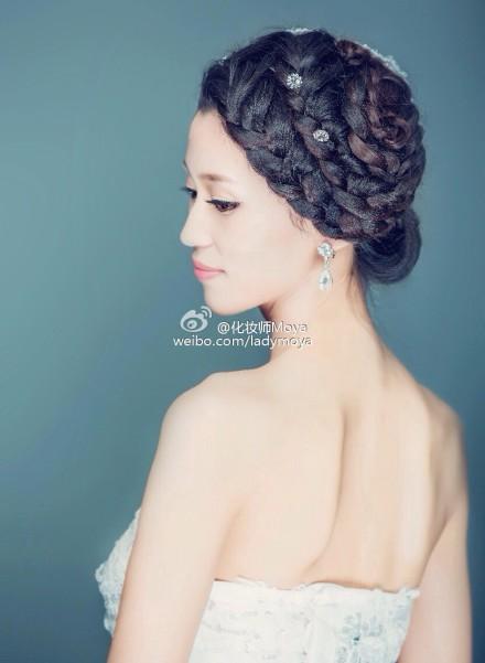 不同风格的新娘造型 哪款是你的最爱(2)