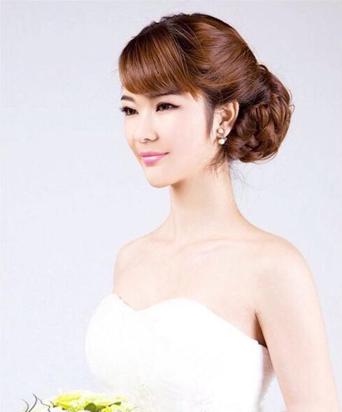 新娘发型图片 绽放优雅的美感(4)_妆面赏析_影楼化妆