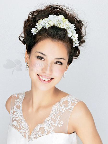 新娘卷发发型设计 演绎你的独一无二图片