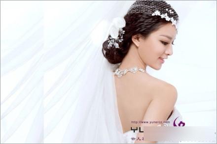 最新新娘造型欣赏 彰显新娘优雅的美_妆面赏析_影楼