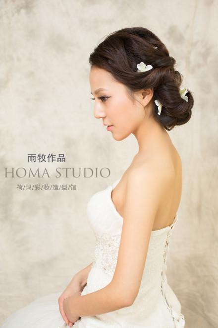 韩式新娘发型欣赏 彰显浪漫气质范儿(5)