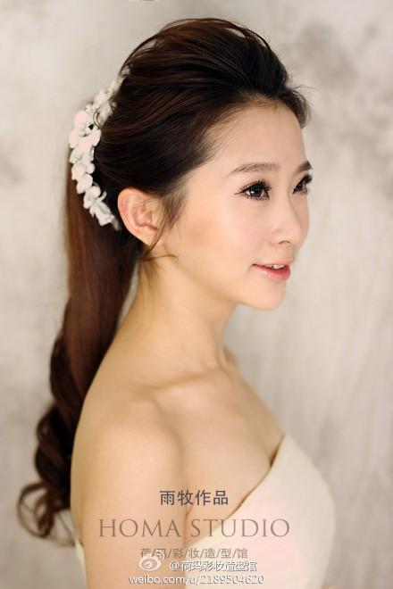 韩式新娘发型欣赏 彰显浪漫气质范儿