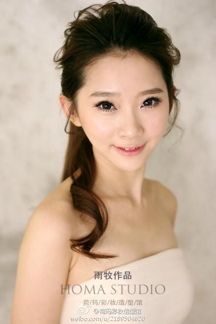 韩式新娘发型欣赏 彰显浪漫气质范儿(6)