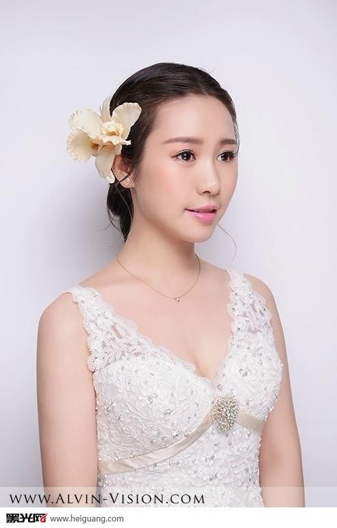 小清新新娘发型