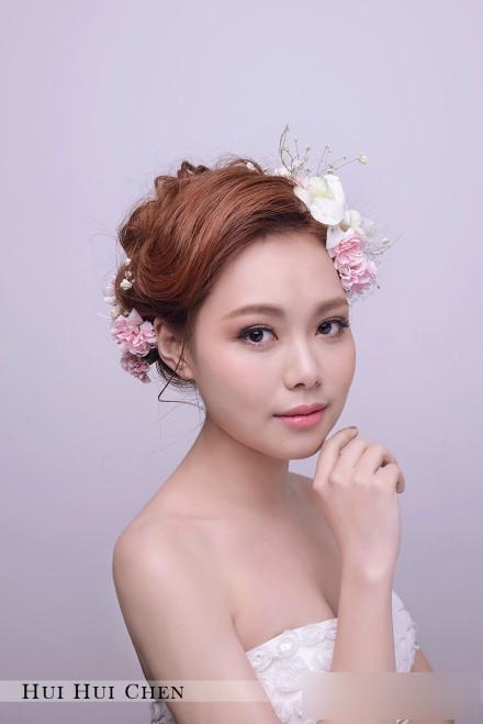 甜美新娘发型欣赏 恬静中透出美好(2)