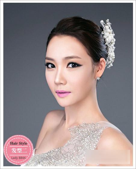 新娘发型流行趋势 彰显梦幻唯美效果