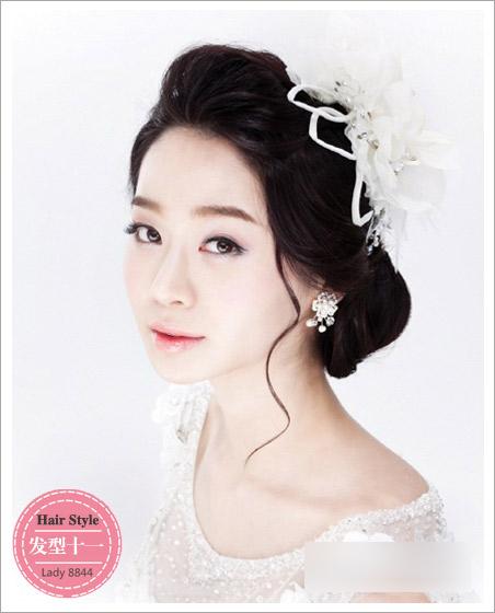 新娘发型流行趋势 彰显梦幻唯美效果(3)
