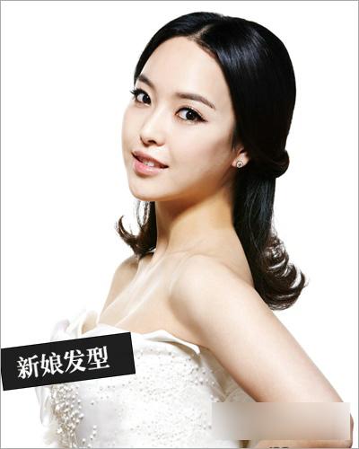 韩式新娘发型 打造三月最美新娘