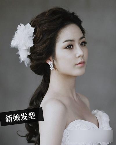韩式新娘发型 打造三月最美新娘(2)