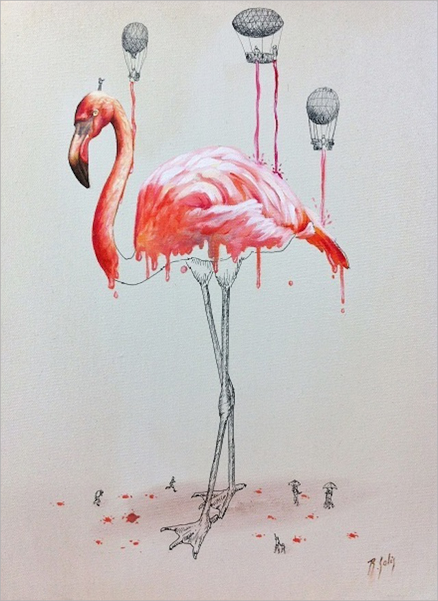 ricardo solis创意动物插画欣赏