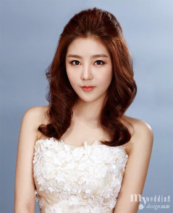 【发型】2014韩式新娘化妆造型之早春系列