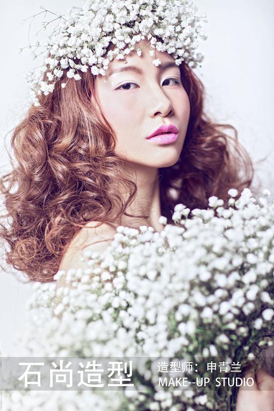 新娘发型欣赏 演绎初春之色