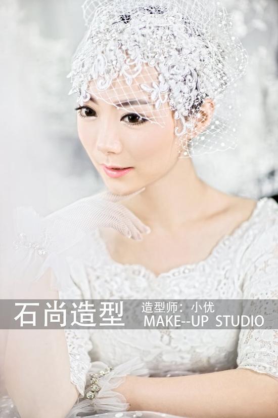 2014最新娇媚新娘造型组图欣赏_妆面赏析_影楼化妆_网