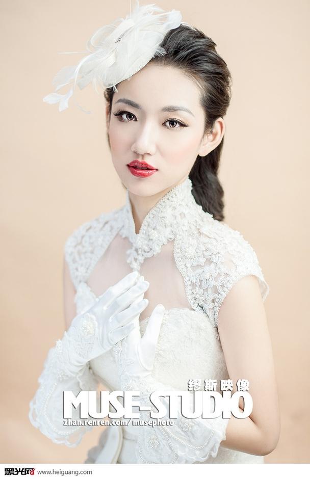 muse-studio新娘妆型(4)_化妆造型_黑光图库_黑光网图片