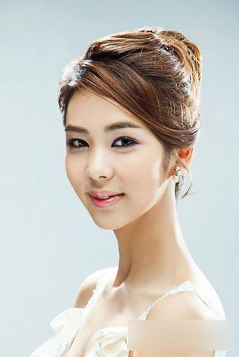 韓式新娘盤發 做最美的自己圖片