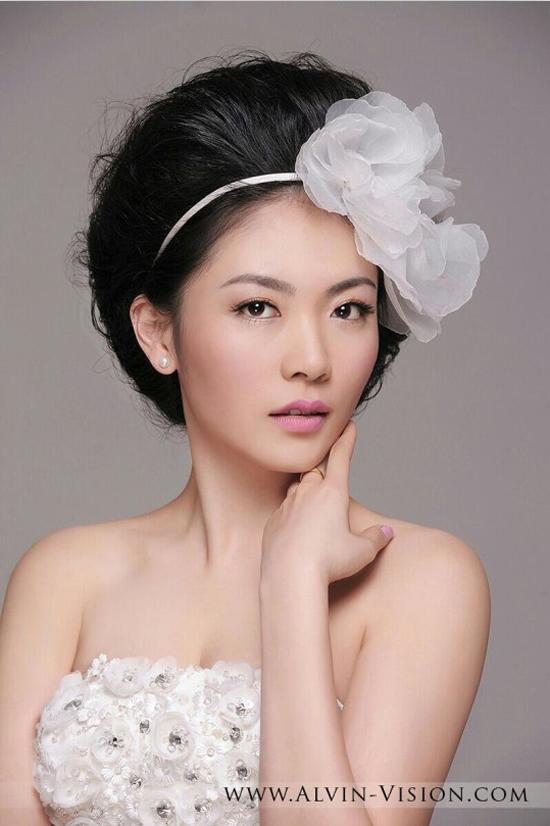 新娘发型设计欣赏 360度美到爆表(2)