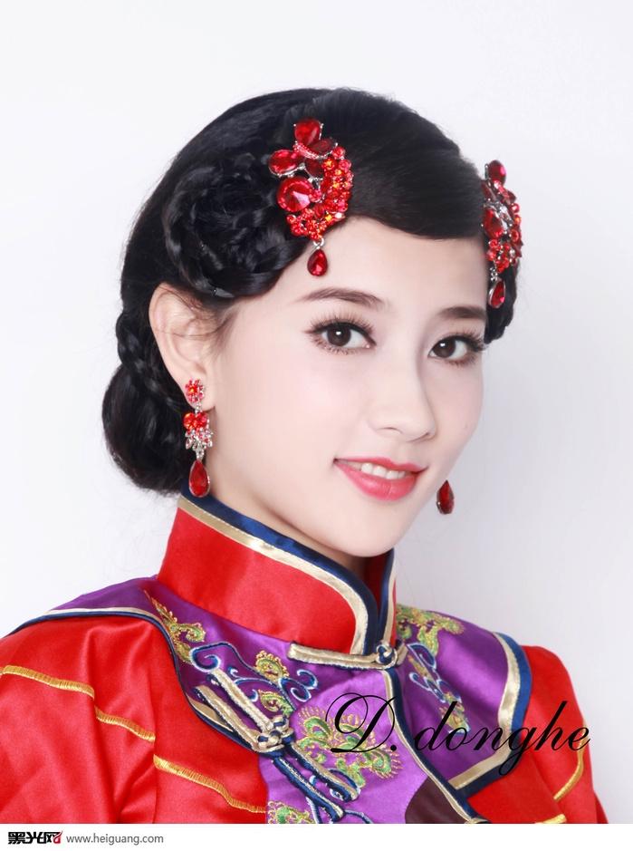中式新娘(4)_化妆造型