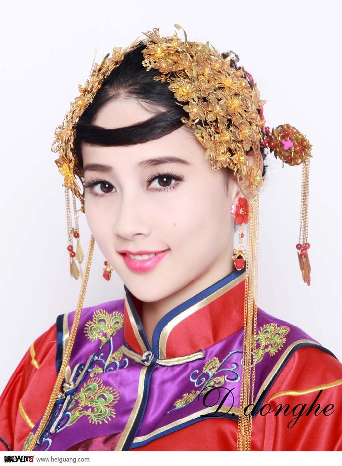 中式新娘(6)_化妆造型