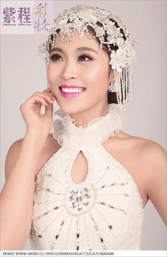 2014新娘婚纱礼服造型组图欣赏