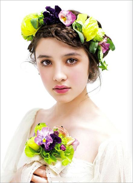 春夏花漾新娘造型 甜美可人图片
