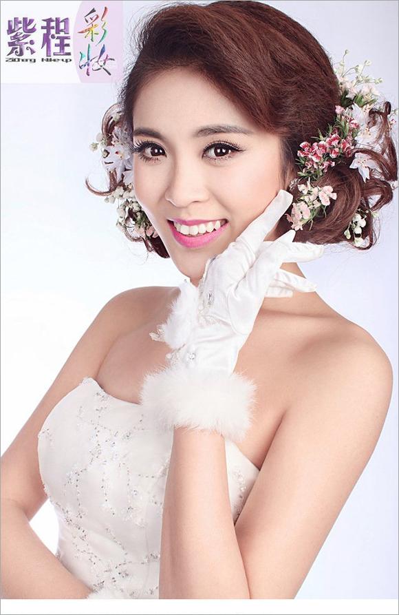 新娘化妆造型再升级 演绎怦然心动的浪漫