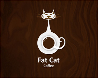 50款猫为题材的logo设计欣赏_设计欣赏_影楼数码_黑光