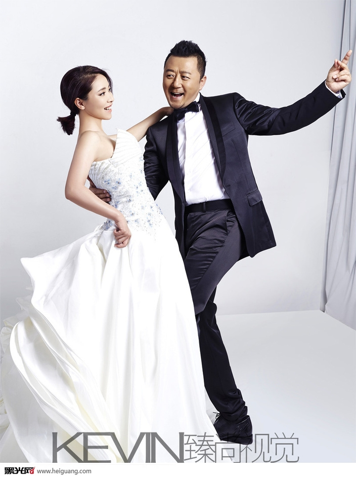 郭涛《时尚新娘》 婚纱照