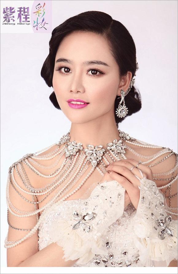 2014最新新娘化妆造型