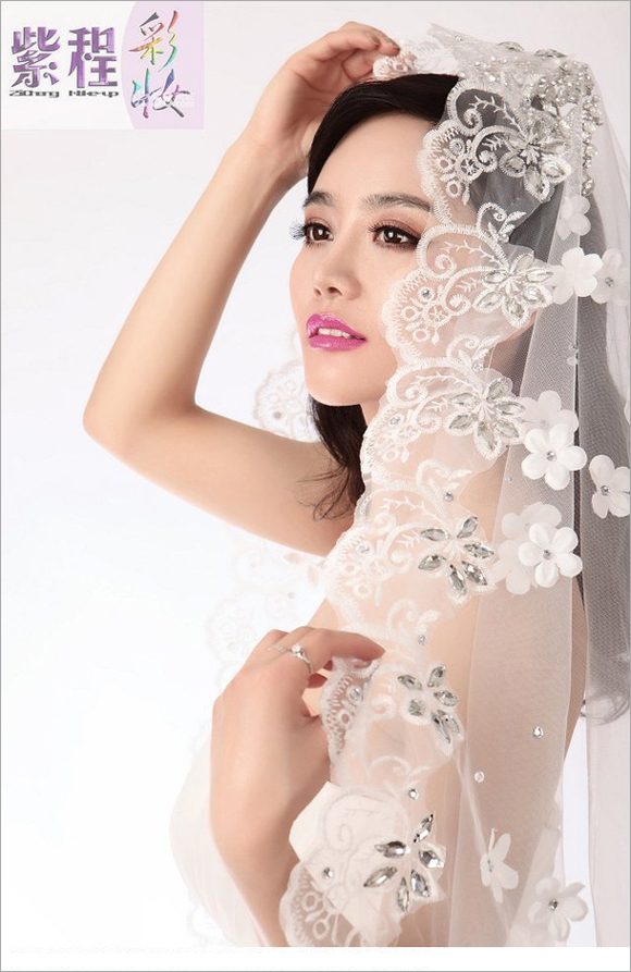 2014最新新娘化妆造型组图欣赏
