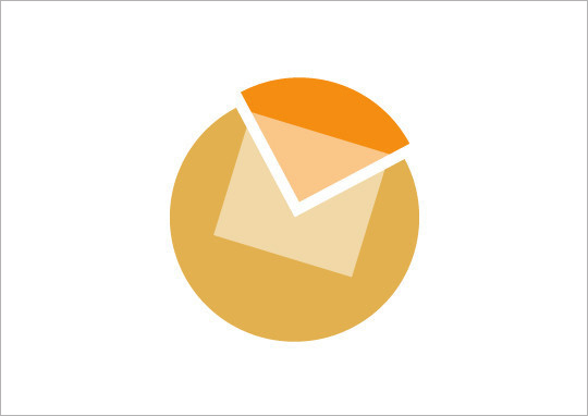 logo设计元素运用实例:email电子邮件