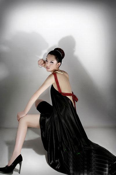 古典美女现代风