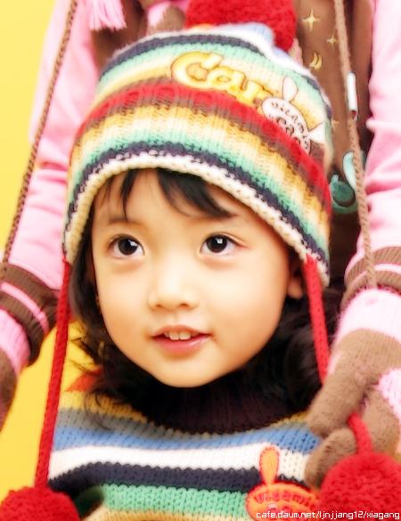 韩国可爱的小童星