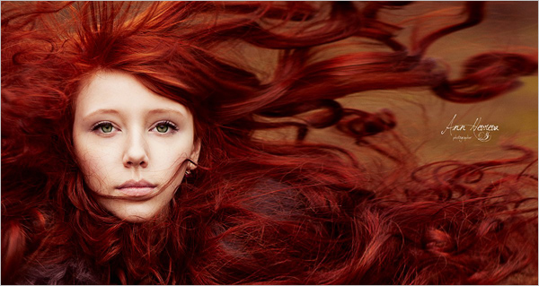 ann nevreva人像摄影:女神你用什么牌子的洗发水能否推荐一下图片