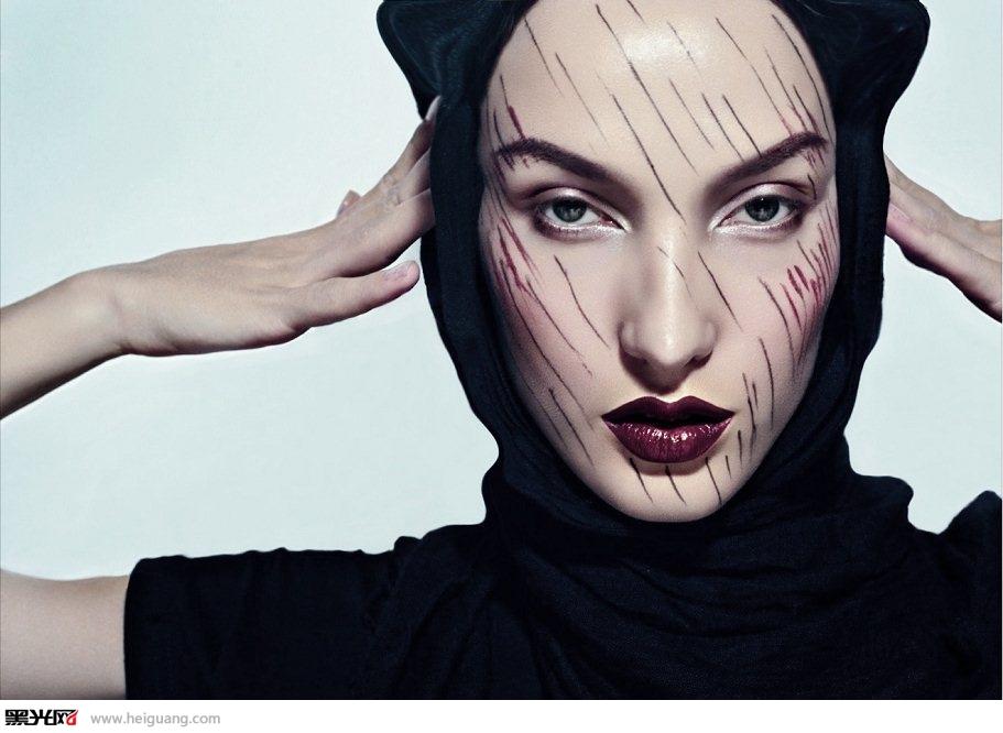 创意妆图片_创意妆容图片大全_创意妆容图片