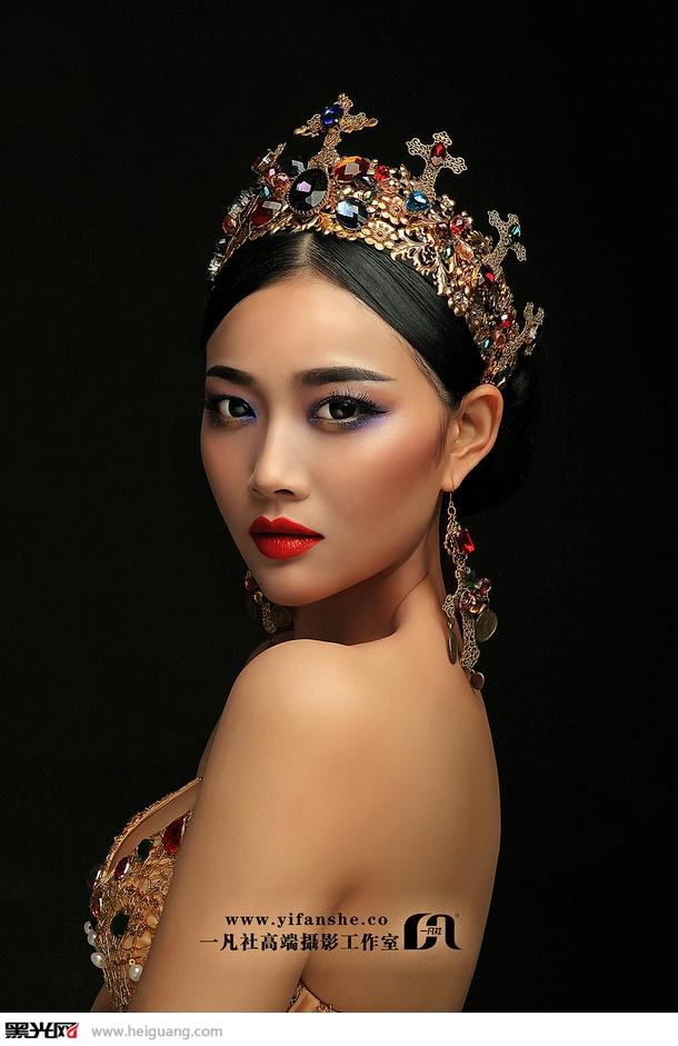 中国风 化妆造型