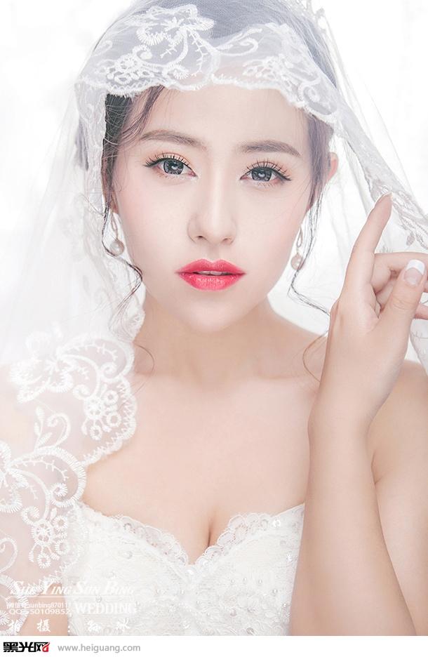 唯美新娘造型