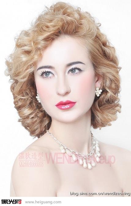 2014优雅唯美欧式新娘造型