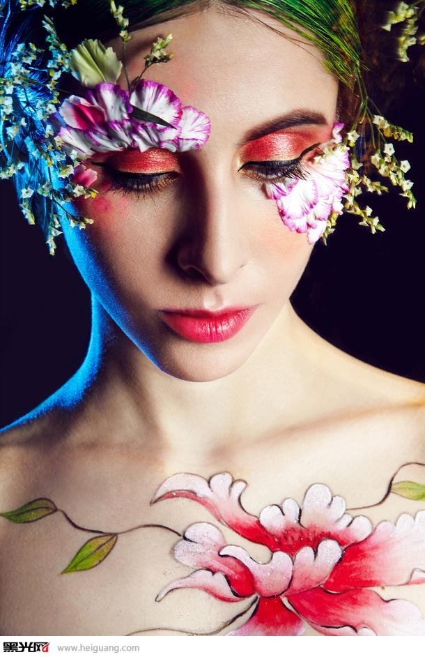 春季彩妆造型化妆造型