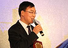 张继国总经理在发布会上发表讲话