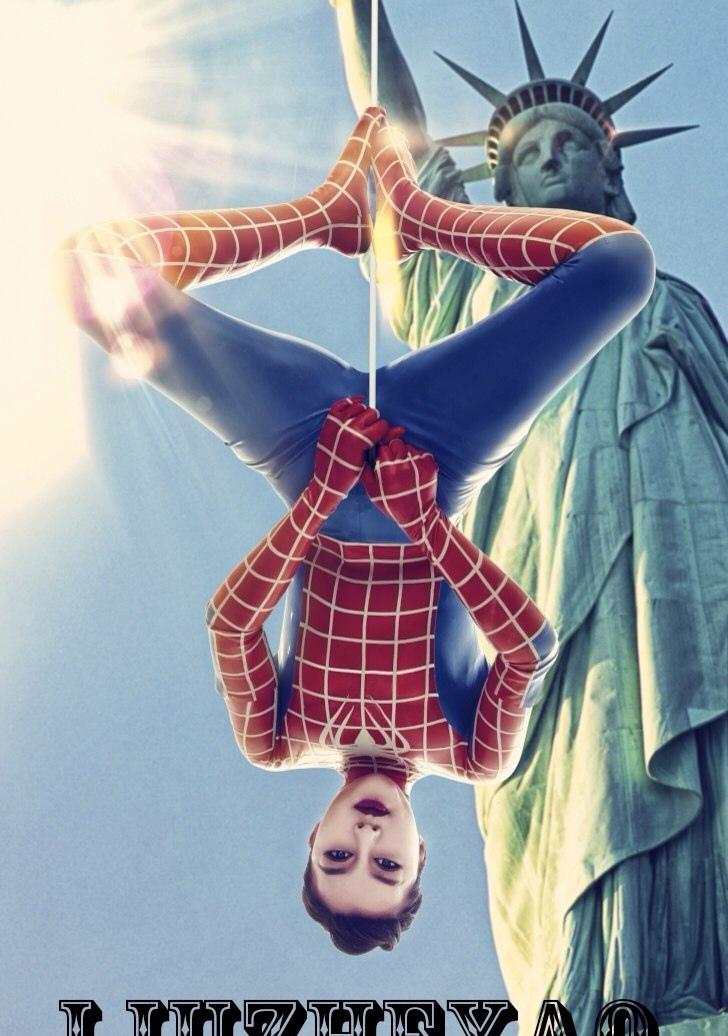 橡皮泥手工制作图片蜘蛛侠