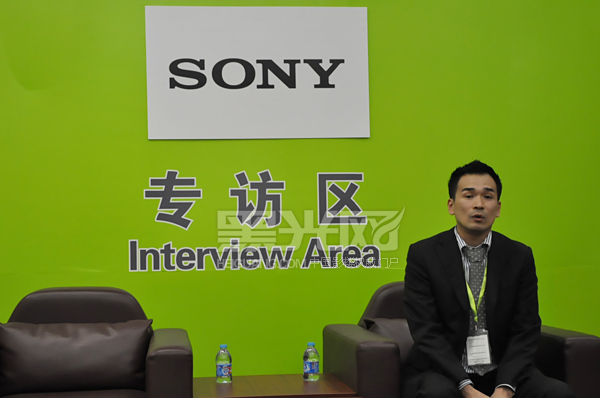 上海展会索尼数码影像媒体见面会