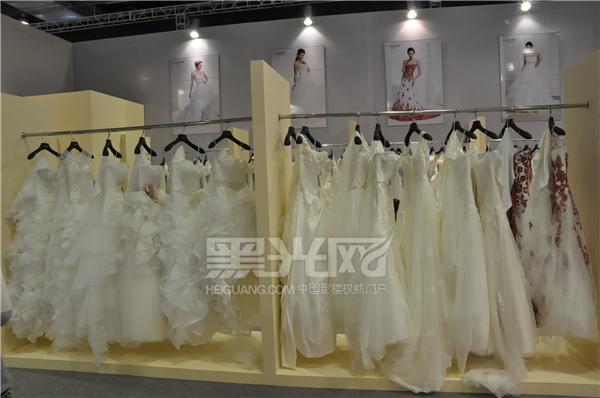 名瑞婚纱展位内部展示