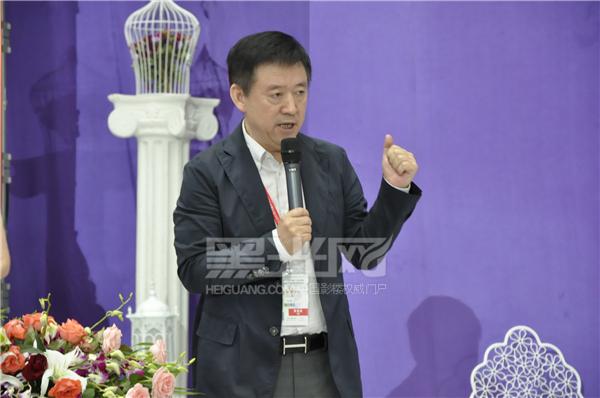 中国人像摄影学会主席闫太昌为大赛致辞