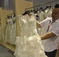名瑞纯手工高端婚纱