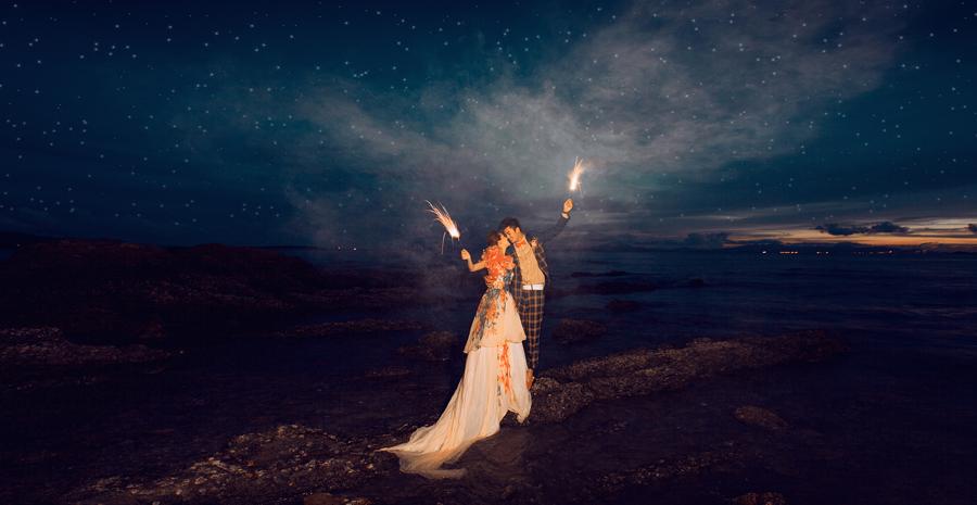 璀璨星空 婚纱照