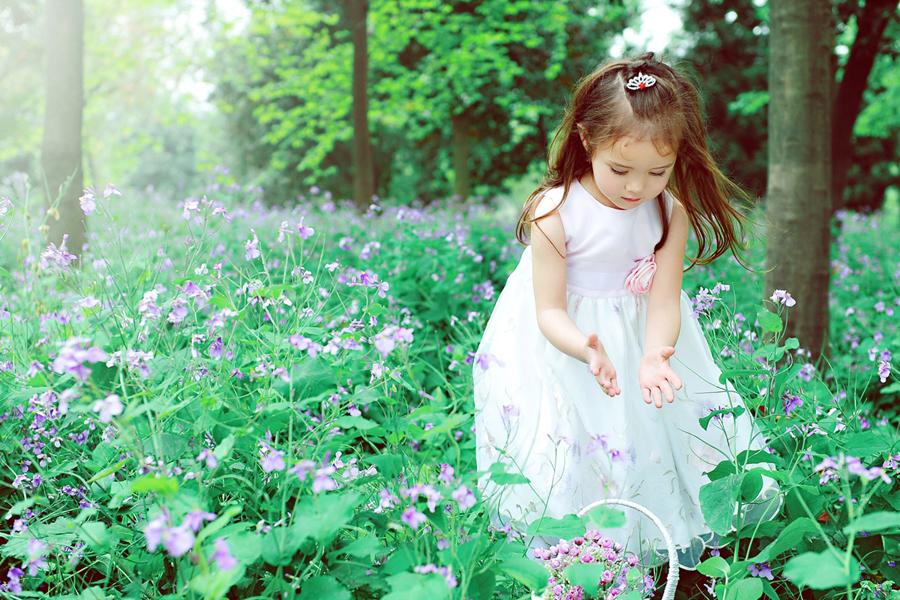 春天的童话(全)_儿童摄影_黑光图库_黑光网