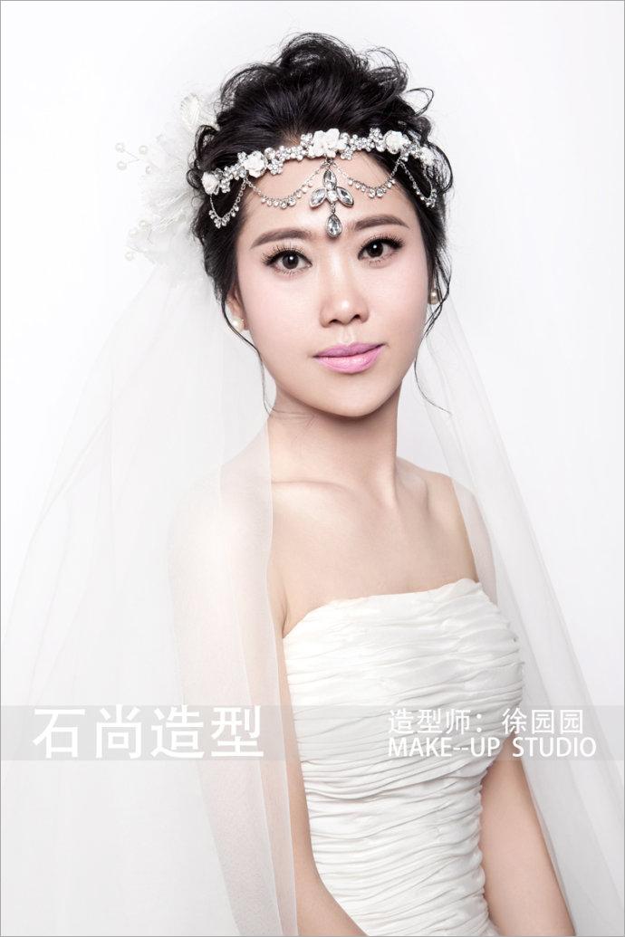 2014最新静美新娘化妆造型