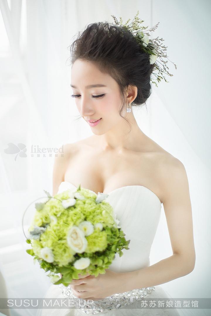 优雅鲜花新娘