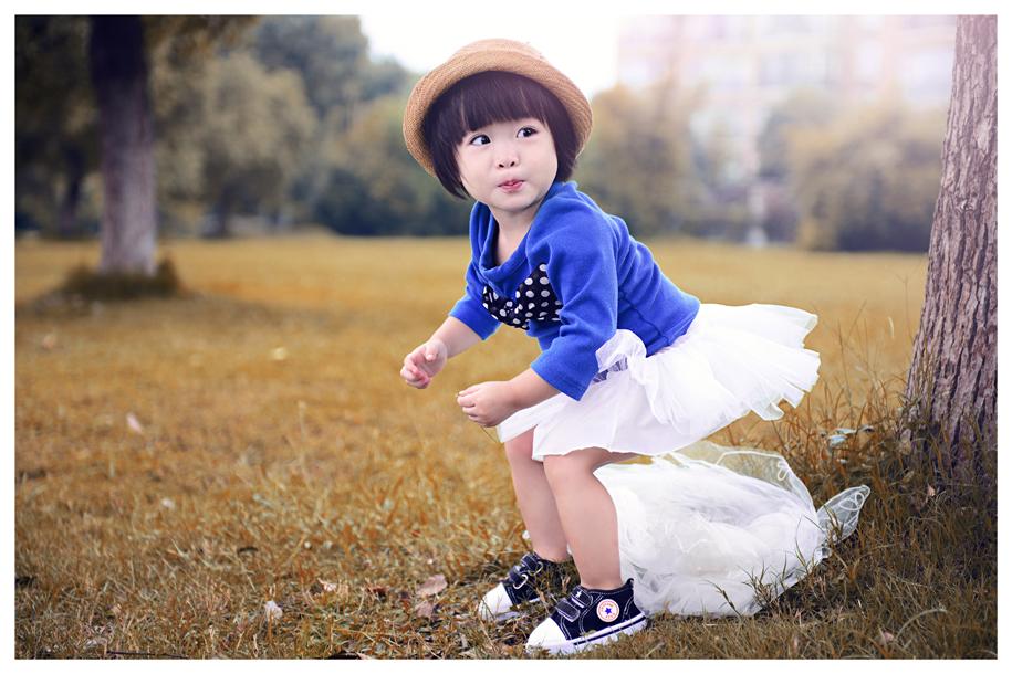 小公主儿童摄影