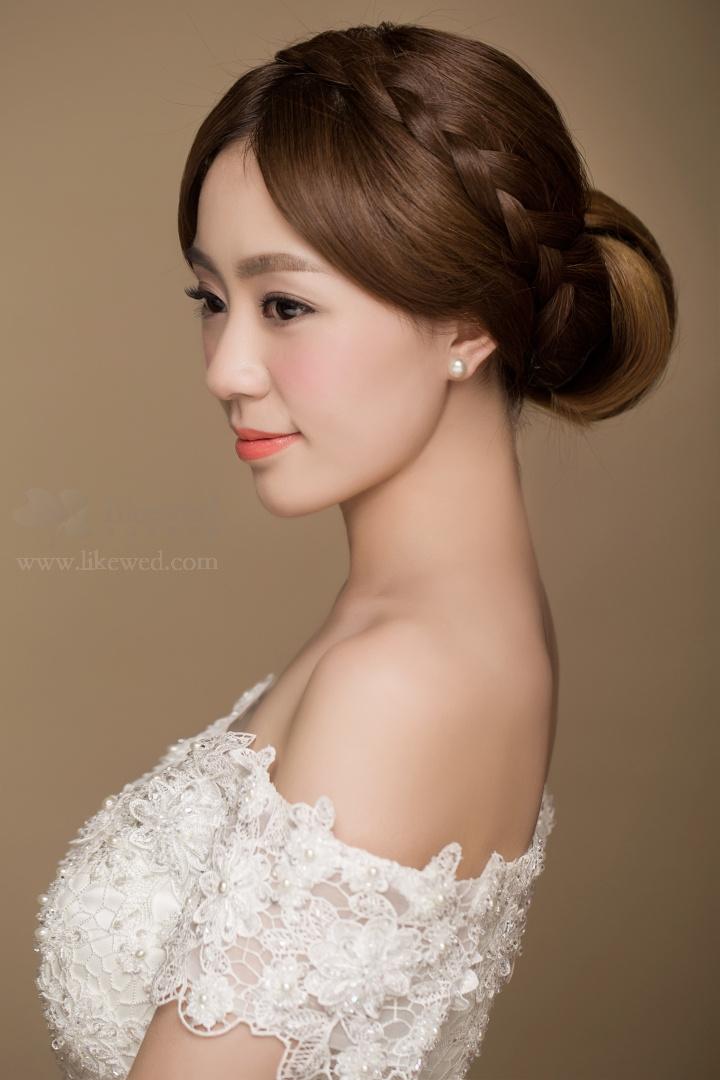 韩式新娘简约风_化妆造型_黑光图库_黑光网
